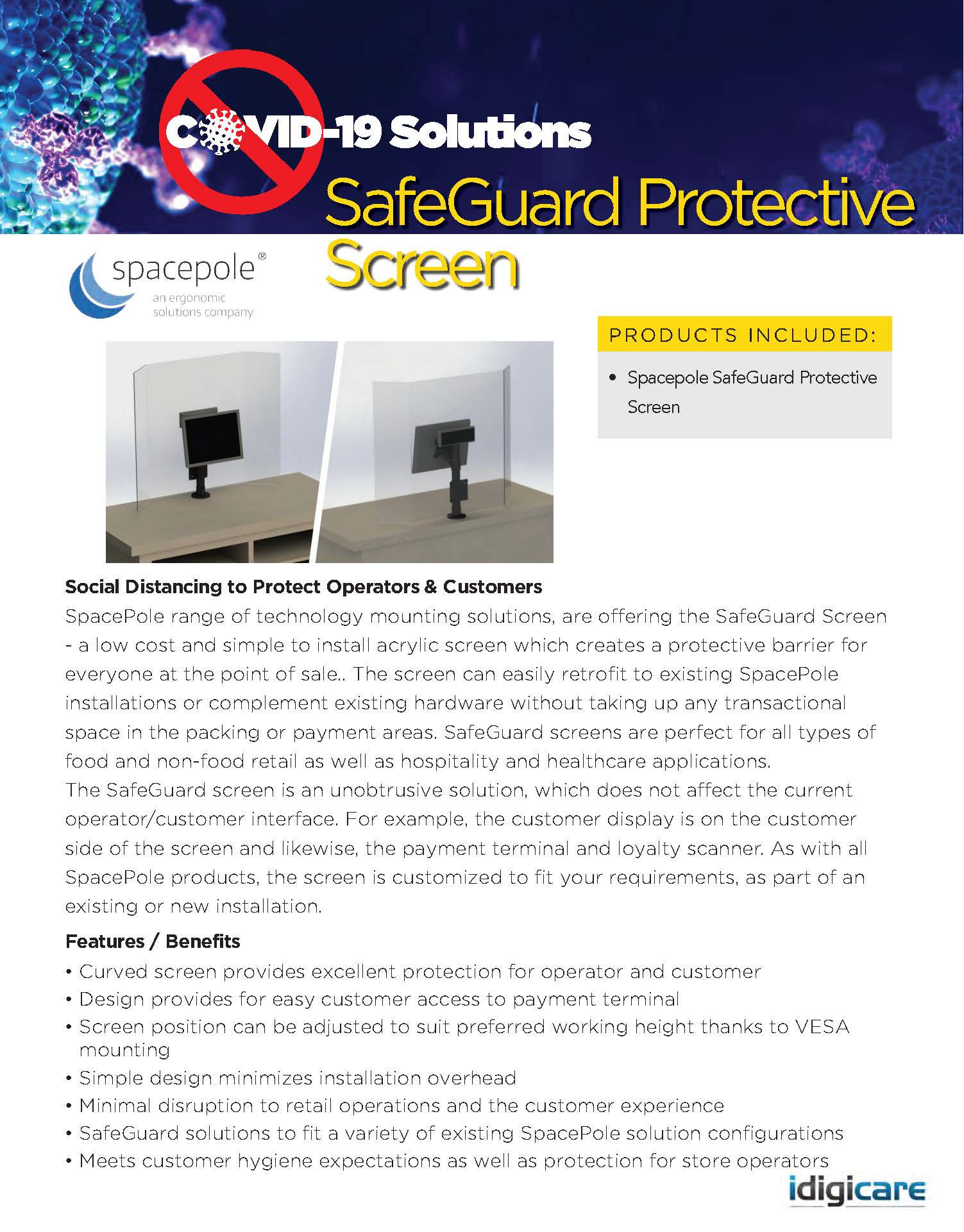 SafeGuard Protective Screen