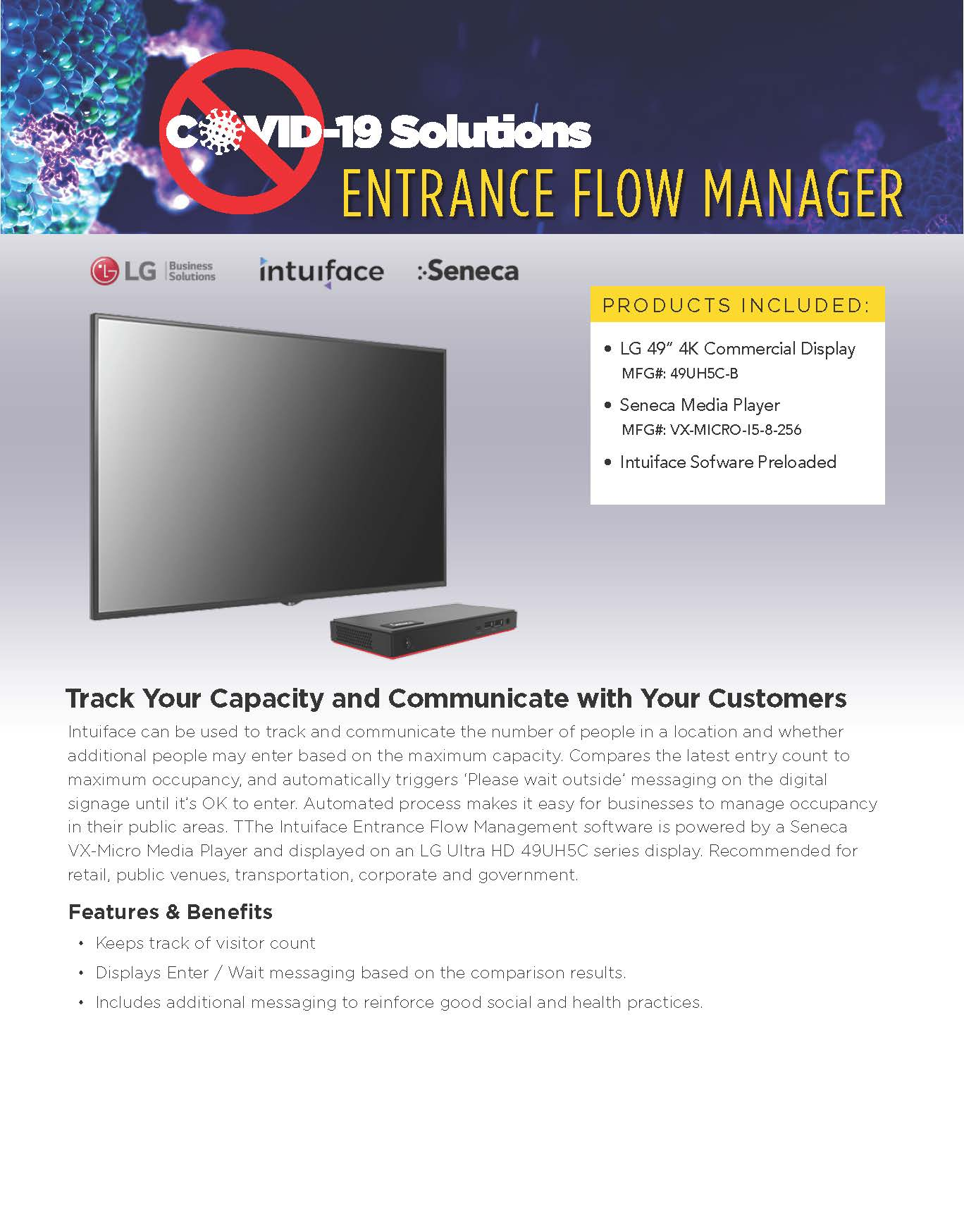 Entrance Flow Manager